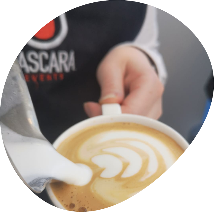 Koffie art op al u evenementen